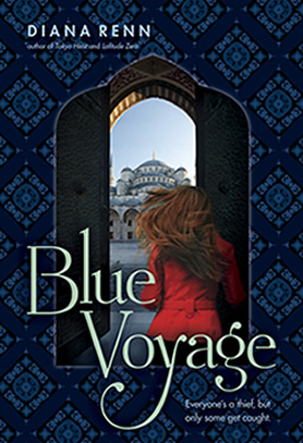 Blue Voyage by author Diana Renn