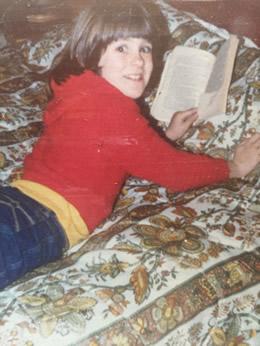 Diana Renn author childhood photo